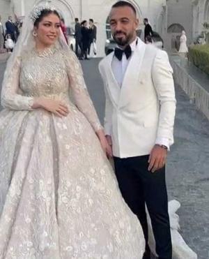 أبرز لقطات حفل زفاف مجدي أفشة وزوجته والحضور