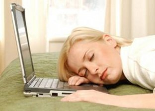 أضرار النوم