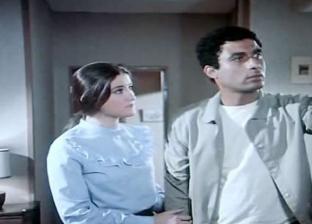 أحمد زكي مع وفاء سالم في فيلم