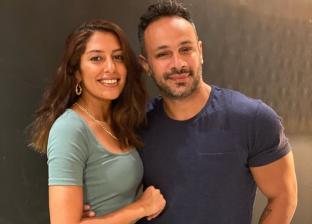 محمد عطيه وميرنا الهلباوي