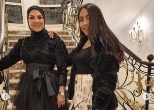 دعاء فاروق وابنتها