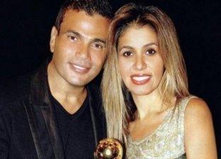 متابعون يتغزلون في زوجة عمرو دياب