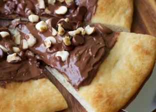 بيتزا الشوكولاتة