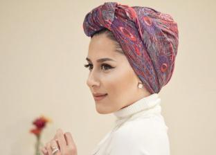 رشا فتحي مصممة الأزياء تقدم للفتيات نوعية الطرح المناسبة في نهار رمضان