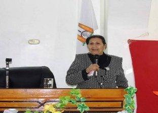 نادية عزمي مقرر فرع المجلس القومي للمراة بالوادي الجديد