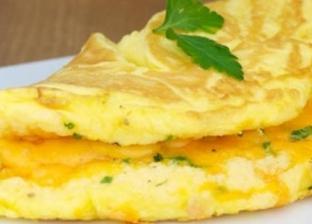 بيض أومليت بالجبن