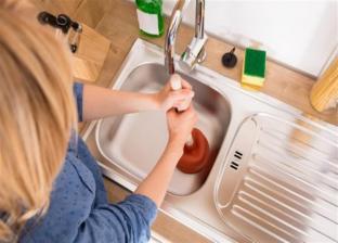 مواد طبيعية تساعد في فتح مجاري المنزل المسدودة