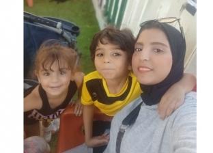الزوجة وأولادها