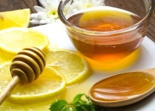 العسل بالليمون