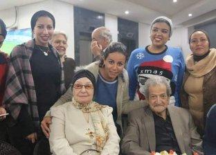 حسين قدري وعصمت صادق في النقابة