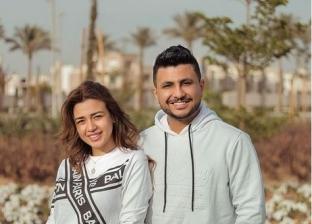 اليوتيوبر علي غزلان وفرح شعبان