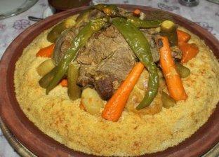 طريقة عمل الكسكسي المغربي