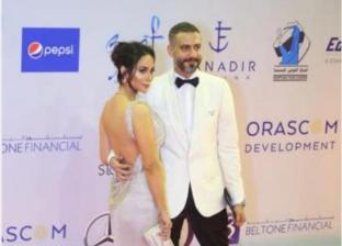 محمد فراج وزوجته بسنت