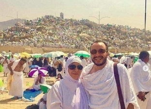 حسام داغر ووالدته الراحلة