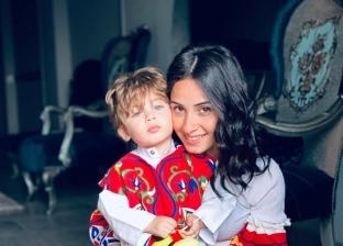 مارينا وطفلها