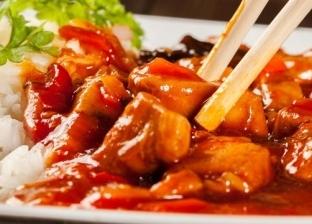 طبق من الدجاج الصيني