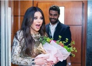 هيفاء وهبي ومدير أعمالها محمد وزيري