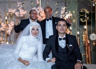 حفل زفاف ابنه سليمان عيد