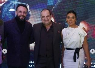 رانيا يوسف من العرض الخاص لفيلم صندوق الدنيا