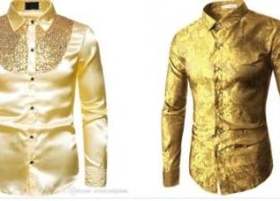 قميص ذهب