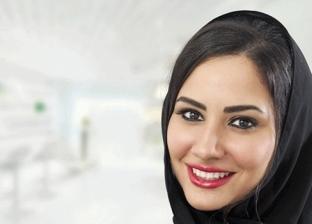 الشعر أسفل الحجاب