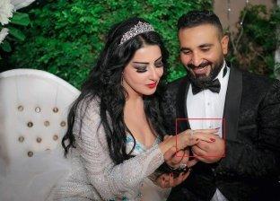 سمية الشاب تحتفظ بصورها مع أحمد سعد رغم تأكيدها