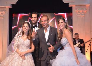 جانب من حفل زفاف مريم قورة