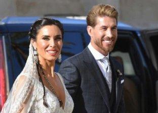 سيرجيو راموس وزوجته