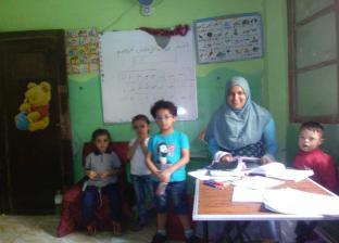 شيماء افتتحت حضانة من أجل الأطفال الفقراء