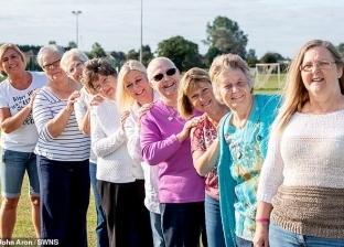 جلسة تصوير لـ10 سيدات تعافين من سرطان الثدي
