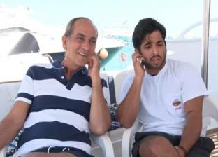 هشام سليم وابنه
