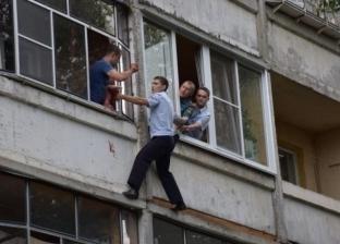 روسي يريد قتل طفلته