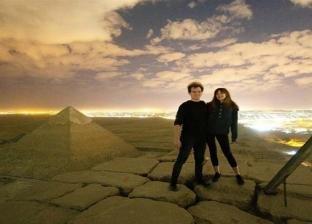 أندريا هيفيد وصديقته