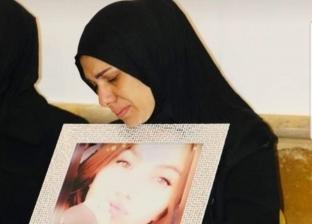 لينا  جابر والدة الطفلة مايا اسماعيل