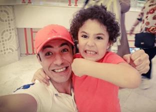 ياسين مع والده أمير عبد الباقي