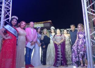 تتويج ملكات جمال العرب بالقرية الفرعونية في اليوم العالمي للسياحة