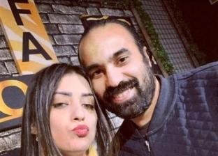 جنال حمزة وزوجته
