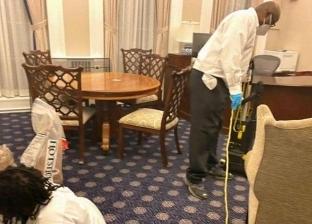 عملية تنظيف وتعقيم البيت الأبيض قبل دخول بايدن