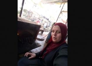 رانيا يوسف تشوي السمك في كفر الشيخ