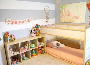 ترتيب غرفة الأطفال