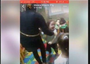 تعذيب طفلة بالحضانة