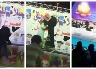 بالفيديو| تحول مشهد احتضان فتاة لماجد المهندس إلى لقطة كوميدية وسخرية الكثيرين