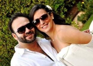 ريهام عبدالغفور وزوجها شريف الشوبكي