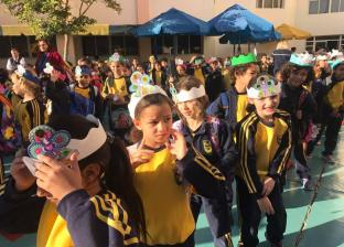 احتفالية مولد النبي في مدرسة خاصة