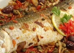طريقة عمل سمك قشر البياض