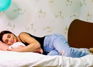 سيرين عبدالنور داخل غرفة نوم طفلها