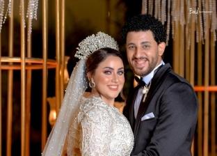 العروسان إسلام وندا