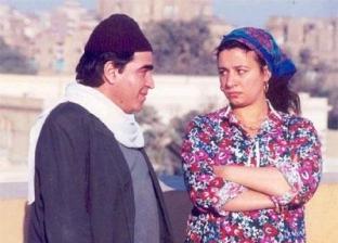 الفنانة عبلة كامل وزوجها السابق محمود الجندي في أحد الأعمال الفنية