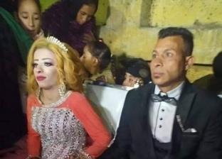 مشهد من حفل خطبة هدير محمد الشهيرة بـ
