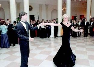 الأميرة ديانافي رقصتهاالشهيرة مع جون ترافولتا